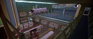 Workable, cargo area and hanger bay from Star Trek: The Motion Picture.