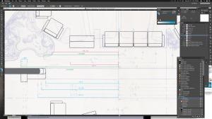 Officer's Lounge blueprint dimension inconsistencies.
