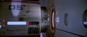 Scene from ST:TMP of the Travel Pod docking with the USS Enterprise.