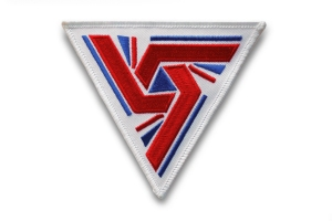 Embroidered UK-7 patch, designed by Ron Cobb, for the 1979 film Alien. (Third Wave Design)