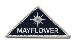 Project Mayflower mission patch from Close Encounters of the Third Kind.