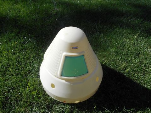Little Tikes kid's Apollo Space Capsule Toy Ches