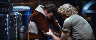 "Sonobuoy cases used as equipment containers on the Regula One Genesis Test site in ""Star Trek II: The Wrath of Khan""."