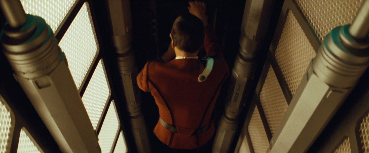 "Sonobuoy cases used as ladder way columns on the Enterprise in ""Star Trek II: The Wrath of Khan""."