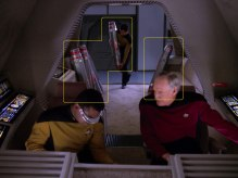 "Sonobuoy cases used as animator mines in the TNG episode ""Chains of Command Part II""."