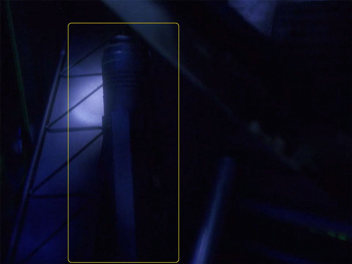 "Sonobuoy case used as a prop container in the TNG episode ""Hero Worship""."
