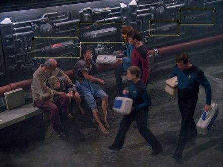 "Sonobuoy set detailing in the TNG episode ""Hide and Q""."