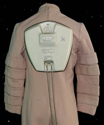 Back of the enviro tech suit custom used in ST:TMP and ST:WOK.