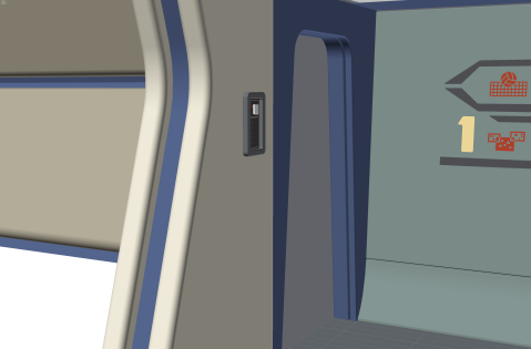 Rendering of the multimedia intercom panel in place on the recreation deck of the Enterprise-refit. (Image: Third Wave Design)
